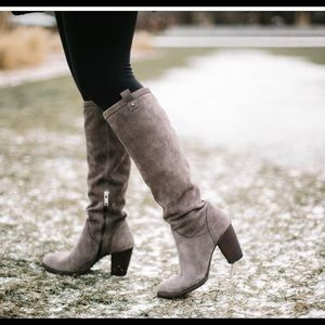 Ugg Ava  Genuine Shearling Lined Tall Boots